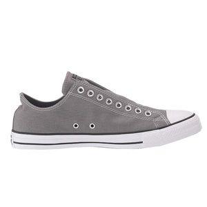 Converse Grey Low Top Slip On sneakers